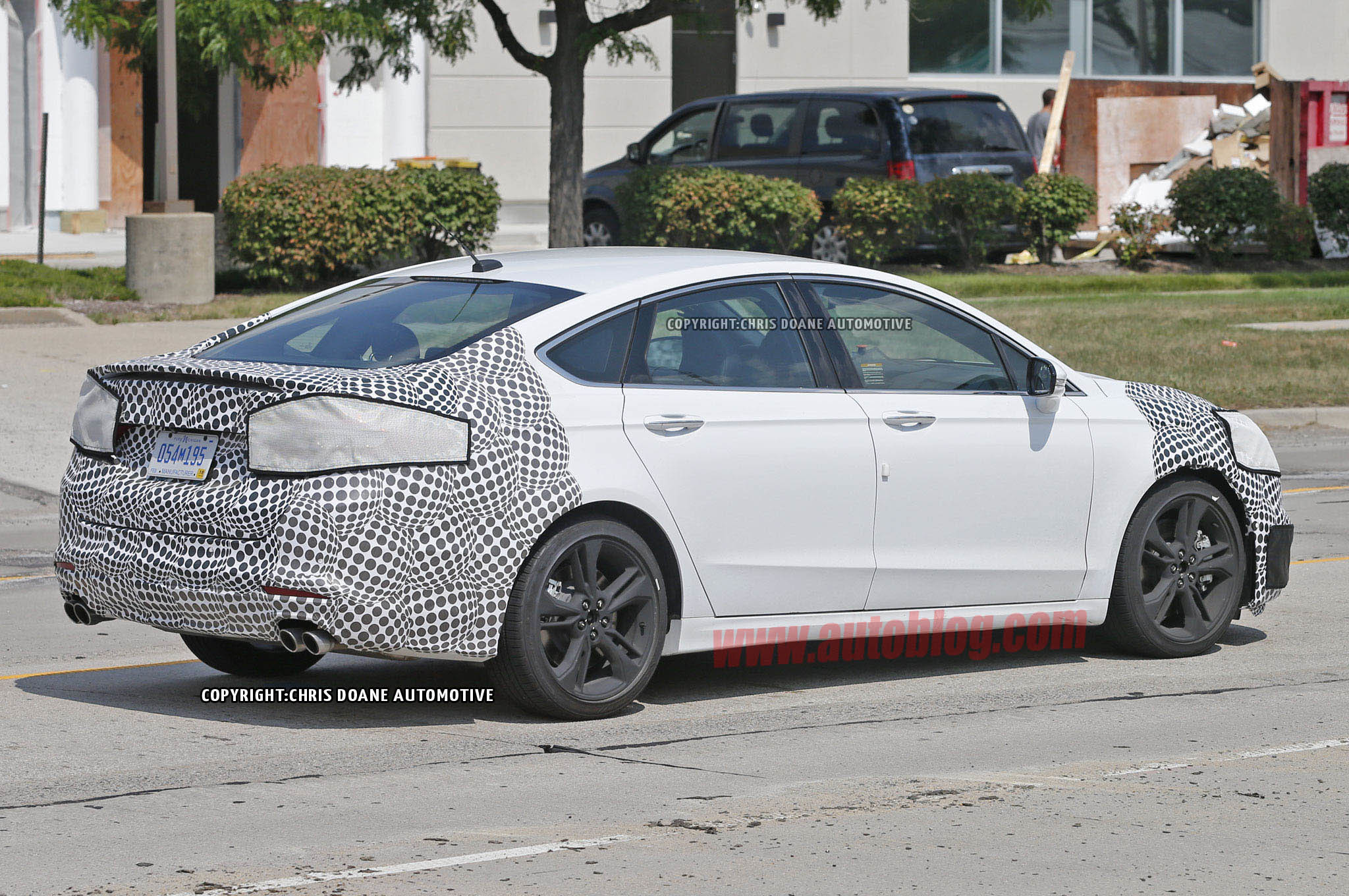 The High-Performance Ford Fusion ST is coming – Fresh Spy Images ...
