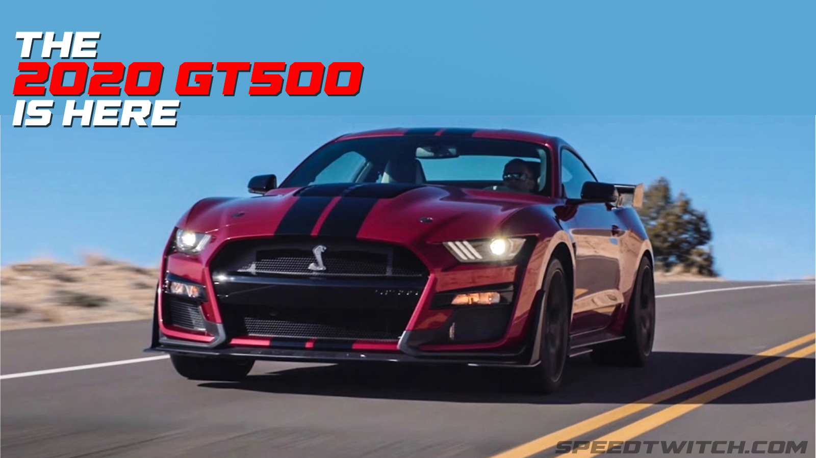 2020 shelby gt500 makes its 755 horsepower debut at the detroit auto show will go on sale this fall